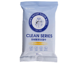 Down Coat Cleaning Wipes