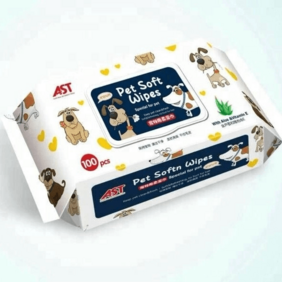 OEM Individually Wrapped CustomizedCleaning Pet Dog Daily Wet Wipes,Cleaning pet wipes