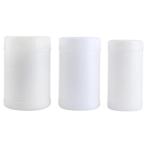 Mini Plastic Canister Wet Wipe in Can Hand Sanitizer Bucket Wipe Clean Alcohol Tissue Wipe