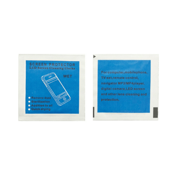 Tempered Glasses Camera Lens Clean And Touch Mobile Screen Cleaner Wet Wipe Tablet