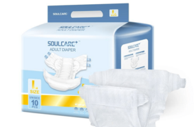 Free Sample China Manufacturer Incontinent Ultra Thick Quick Dry Old People Adult Size Diaper Cheap Price