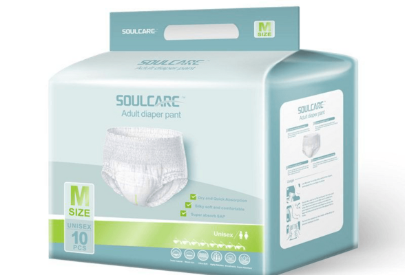 Free Samples Printed Adult Pull Diaper Potty Training Pant Terry Towelling Nappy for Adult In Stock Lot