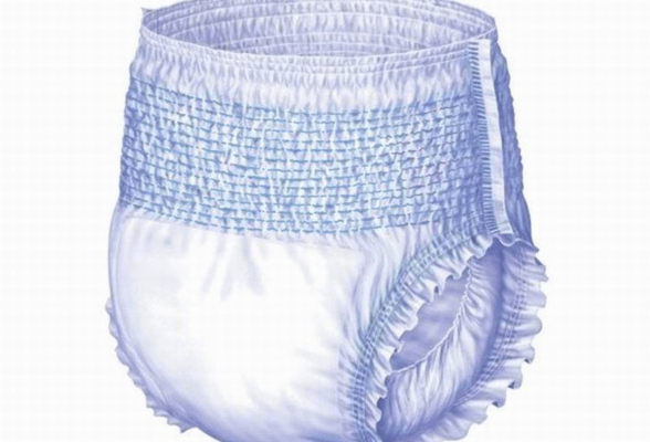 Wholesale Elastic Waistband Panty Type Adult Diaper Disposable pull for Adult