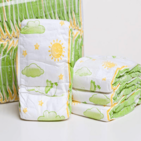 super absorbency organic disposable baby infant diapers with OEM brand