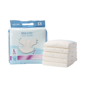Ultra Thick Cheap Leakage Guard Eco Friendly Adult Diapers