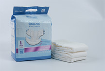 Incontinence training novel diapers